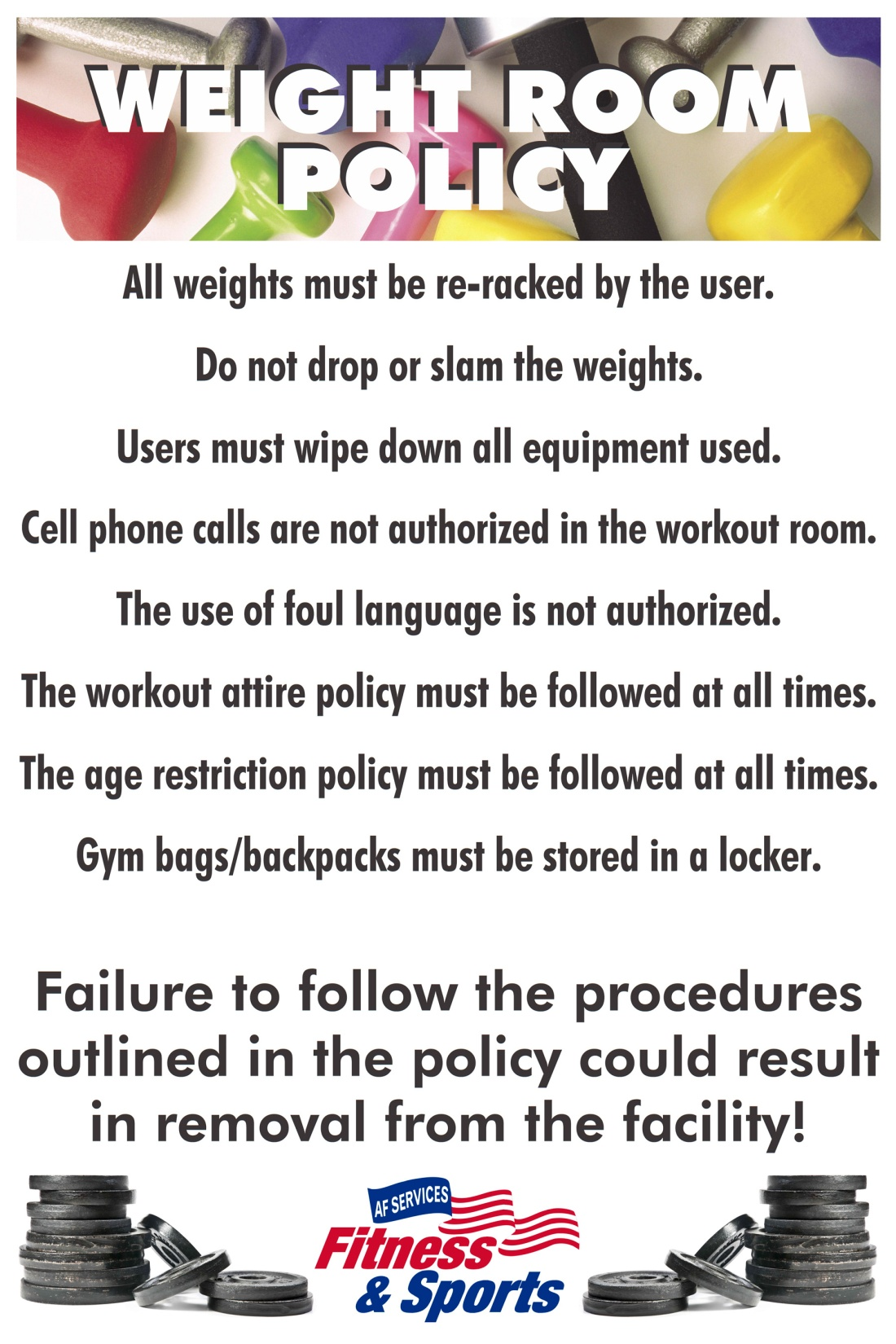 WeightRoomPolicy